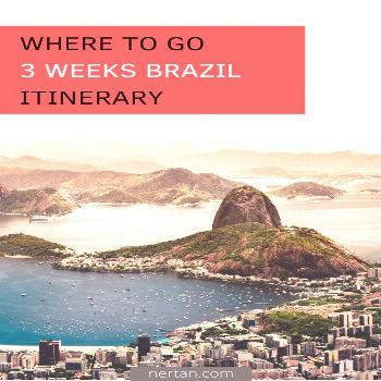 3 Weeks Brazil Itinerary We spend three weeks in Brazil with a clear focus on stunning nature and b