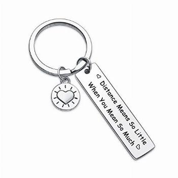 7RVZM Farewell Jewelry Long Distance Relationship Gift