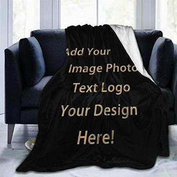 Anti-Pilling Flannel Customized Blanket Personalized Gifts