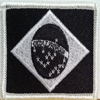 Brazil Flag Embroidery Iron-On Patch Brazilian Tactical