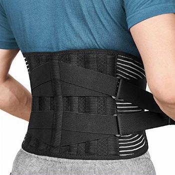 Freetoo Back Braces for Lower Back Pain Relief with 6 Stays,