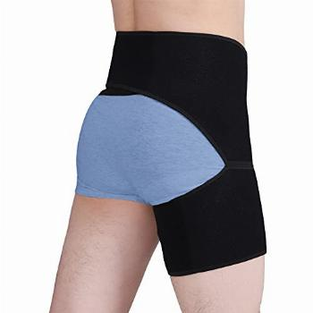 Hip Brace Groin Thigh Supports Compression Sleeve Adjustable