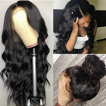 ISEE Hair 150% Density Brazilian Body Wave Lace Front Wigs