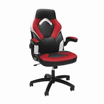 OFM ESS Collection Racing Style Bonded Leather Gaming Chair,