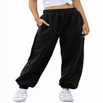 Ru Sweet Women's Active High Waisted Sporty Gym Athletic Fit