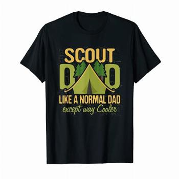 Scout Dad T Shirt Cub Leader Boy Camping Scouting Troop Gift